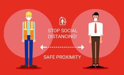 Restart your business safely by monitoring Social Distancing.